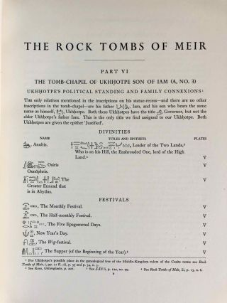 The rock tombs of Meir. Part I-VI (complete set)[newline]M0154a-55.jpg