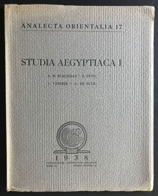 Studia Aegyptiaca I. Osiris as the maker of corn in a text of the Ptolemaic period. Some remarks...[newline]M0164a.jpg