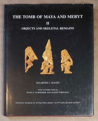The Tomb of Maya and Meryt. Volume II: Objects and skeletal remains. MARTIN Geoffrey Thorndike -...[newline]M0234b-00.jpeg