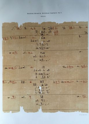 Facsimilé of the Rhind mathematical papyrus[newline]M0265a-10.jpg