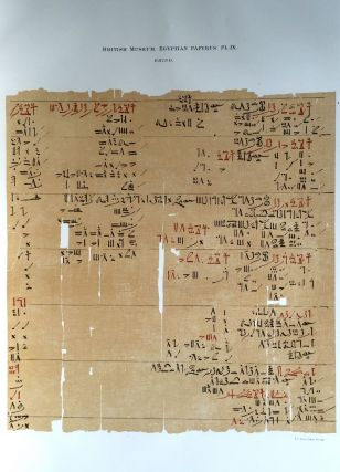 Facsimilé of the Rhind mathematical papyrus[newline]M0265a-14.jpg
