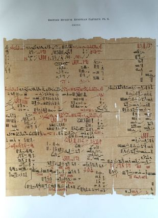 Facsimilé of the Rhind mathematical papyrus[newline]M0265a-15.jpg