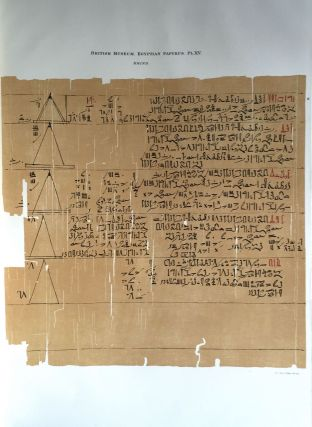 Facsimilé of the Rhind mathematical papyrus[newline]M0265a-20.jpg