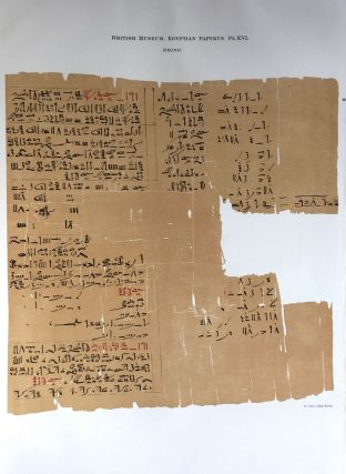 Facsimilé of the Rhind mathematical papyrus[newline]M0265a-21.jpg