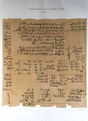 Facsimilé of the Rhind mathematical papyrus[newline]M0265a-23.jpg