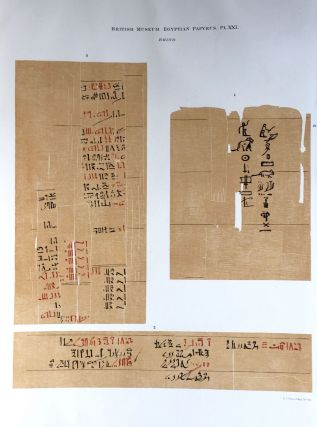 Facsimilé of the Rhind mathematical papyrus[newline]M0265a-26.jpg