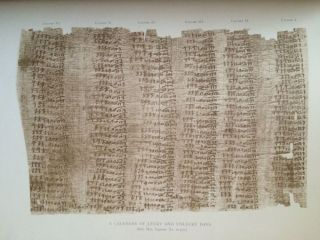 Facsimiles of Egyptian Hieratic Papyri in the British Museum. 1st series & 2nd series[newline]M0266-06.jpg