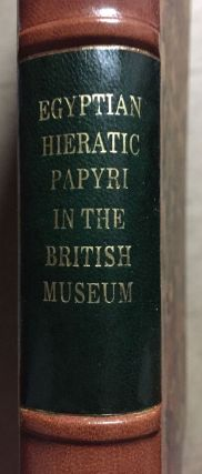 Facsimiles of Egyptian Hieratic Papyri in the British Museum. 1st series.[newline]M0266a-02.jpg