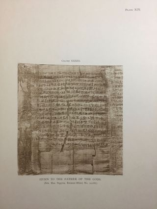 Facsimiles of Egyptian Hieratic Papyri in the British Museum. 1st series.[newline]M0266a-12.jpg