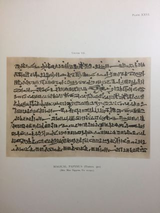 Facsimiles of Egyptian Hieratic Papyri in the British Museum. 1st series.[newline]M0266a-14.jpg