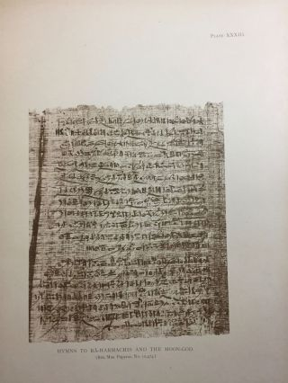 Facsimiles of Egyptian Hieratic Papyri in the British Museum. 1st series.[newline]M0266a-16.jpg