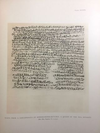 Facsimiles of Egyptian Hieratic Papyri in the British Museum. 1st series.[newline]M0266a-18.jpg
