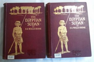 The Egyptian Sûdan. Its History and Monuments. Vol. I & II (complete set). BUDGE Ernest Alfred Wallis.[newline]M0281.jpg