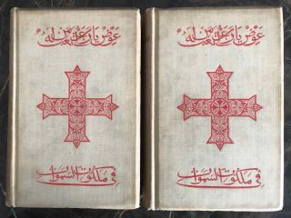 The Ancient Coptic Churches of Egypt. Vol. I & II (complete set). BUTLER Alfred J.[newline]M0290a.jpg