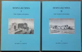 Semna-Kumna. Vol. I: The temple of Semna. Vol. II: The temple of Kumna (complete set). CAMINOS Ricardo Augusto.[newline]M0298d.jpg