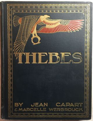 Thebes. The glory of a great past. CAPART Jean[newline]M0308a.jpg