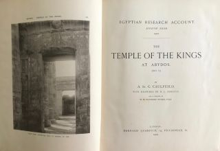 The temple of the kings at Abydos (Sethy I). With drawings by H.L. Christie and a chapter by W.M. Flinders Petrie.[newline]M0318b-02.jpg