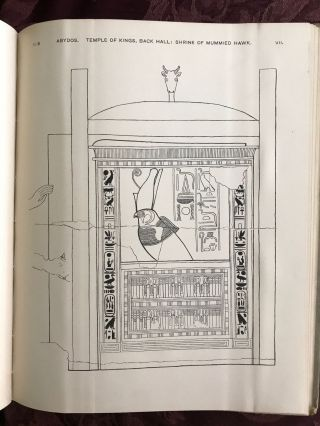 The temple of the kings at Abydos (Sethy I). With drawings by H.L. Christie and a chapter by W.M. Flinders Petrie.[newline]M0318b-07.jpg