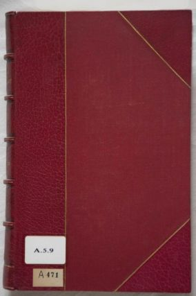 Oeuvres diverses. Tomes I, II, III & V (tome IV is missing)[newline]M0340-01.jpg