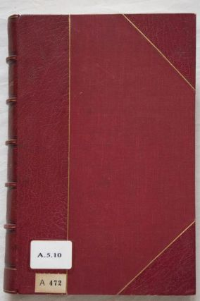 Oeuvres diverses. Tomes I, II, III & V (tome IV is missing)[newline]M0340-05.jpg