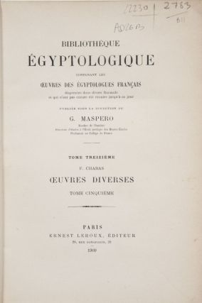 Oeuvres diverses. Tomes I, II, III & V (tome IV is missing)[newline]M0340-14.jpg