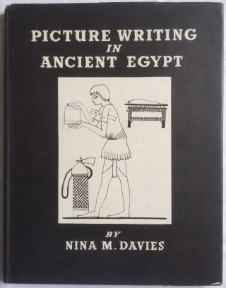 Picture writing in Ancient Egypt. DAVIES Nina M[newline]M0400b.jpg