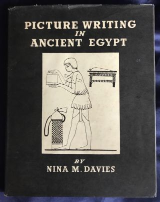 Picture writing in Ancient Egypt. DAVIES Nina M[newline]M0400c.jpg