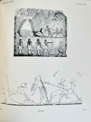 Scenes from some Theban tombs (Nos 38, 66, 162 with excerpts from 81). DAVIES Nina de Garis[newline]M0401-00.jpeg