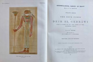 The rock tombs of Deir el-Gebrawi. Part I: Tomb of Aba and smaller tombs of the southern group. Part II: Tomb of Zau and tombs of the northern group (complete set)[newline]M0407f-08.jpg