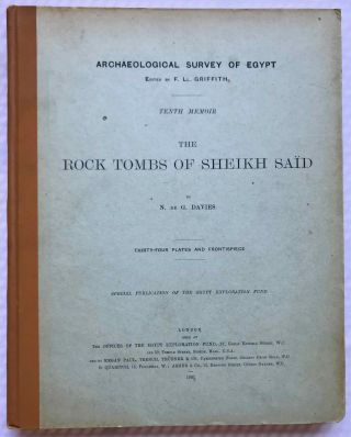 The rock tombs of Sheikh Said. DAVIES Norman de Garis[newline]M0409f.jpg