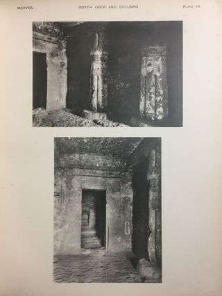 The rock tombs of Tell el-Amarna. Complete set of 6 volumes in the FIRST EDITION. Part I: The Tomb of Meryra.[newline]M0410-07.jpg