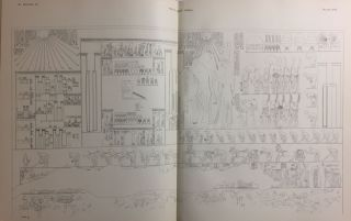 The rock tombs of Tell el-Amarna. Complete set of 6 volumes in the FIRST EDITION. Part I: The Tomb of Meryra.[newline]M0410-22.jpg