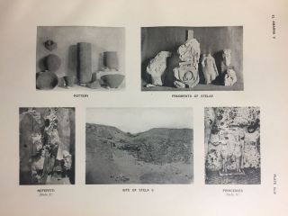 The rock tombs of Tell el-Amarna. Complete set of 6 volumes in the FIRST EDITION. Part I: The Tomb of Meryra.[newline]M0410-48.jpg