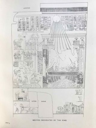 The rock tombs of Tell el-Amarna. Complete set of 6 volumes. Part I: The Tomb of Meryra. Part II: The Tombs of Panehesy and Meryra II. Part III: The Tombs of Huya and Ahmes. Part IV: Tombs of Penthu, Mahu, and Others. Part V: Smaller Tombs and Boundary Stelae. Part VI: Tombs of Parennefer, Tutu, and Aÿ (complete set)[newline]M0410h-08.jpg