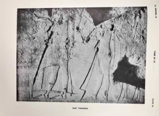The rock tombs of Tell el-Amarna. Complete set of 6 volumes. Part I: The Tomb of Meryra. Part II: The Tombs of Panehesy and Meryra II. Part III: The Tombs of Huya and Ahmes. Part IV: Tombs of Penthu, Mahu, and Others. Part V: Smaller Tombs and Boundary Stelae. Part VI: Tombs of Parennefer, Tutu, and Aÿ (complete set)[newline]M0410j-55.jpeg