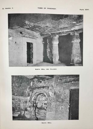The rock tombs of Tell el-Amarna. Complete set of 6 volumes. Part I: The Tomb of Meryra. Part II: The Tombs of Panehesy and Meryra II. Part III: The Tombs of Huya and Ahmes. Part IV: Tombs of Penthu, Mahu, and Others. Part V: Smaller Tombs and Boundary Stelae. Part VI: Tombs of Parennefer, Tutu, and Aÿ (complete set)[newline]M0410m-24.jpeg