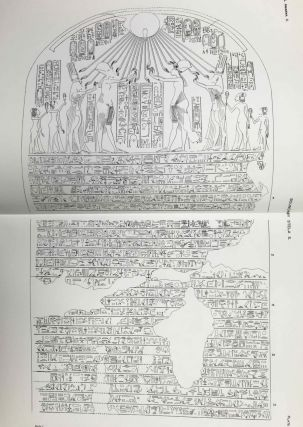 The rock tombs of Tell el-Amarna. Complete set of 6 volumes. Part I: The Tomb of Meryra. Part II: The Tombs of Panehesy and Meryra II. Part III: The Tombs of Huya and Ahmes. Part IV: Tombs of Penthu, Mahu, and Others. Part V: Smaller Tombs and Boundary Stelae. Part VI: Tombs of Parennefer, Tutu, and Aÿ (complete set)[newline]M0410m-54.jpeg