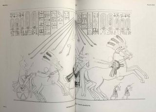The rock tombs of Tell el-Amarna. Complete set of 6 volumes. Part I: The Tomb of Meryra. Part II: The Tombs of Panehesy and Meryra II. Part III: The Tombs of Huya and Ahmes. Part IV: Tombs of Penthu, Mahu, and Others. Part V: Smaller Tombs and Boundary Stelae. Part VI: Tombs of Parennefer, Tutu, and Aÿ (complete set of 6 parts in 3 volumes, 2004 reedition)[newline]M0410n-09.jpeg