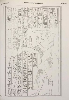 The rock tombs of Tell el-Amarna. Complete set of 6 volumes. Part I: The Tomb of Meryra. Part II: The Tombs of Panehesy and Meryra II. Part III: The Tombs of Huya and Ahmes. Part IV: Tombs of Penthu, Mahu, and Others. Part V: Smaller Tombs and Boundary Stelae. Part VI: Tombs of Parennefer, Tutu, and Aÿ (complete set of 6 parts in 3 volumes, 2004 reedition)[newline]M0410n-27.jpeg