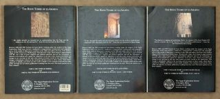 The rock tombs of Tell el-Amarna. Complete set of 6 volumes. Part I: The Tomb of Meryra. Part II: The Tombs of Panehesy and Meryra II. Part III: The Tombs of Huya and Ahmes. Part IV: Tombs of Penthu, Mahu, and Others. Part V: Smaller Tombs and Boundary Stelae. Part VI: Tombs of Parennefer, Tutu, and Aÿ (complete set of 6 parts in 3 volumes, 2004 reedition)[newline]M0410n-46.jpeg