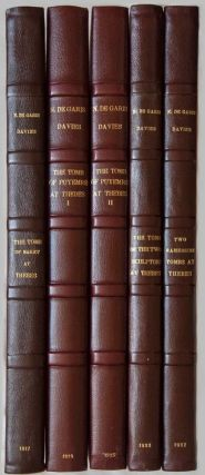 Robb de Peyster Tytus series, complete set of 5 volumes. Vol. I: The tomb of Nakht. Vol. II: The...[newline]M0421.jpg