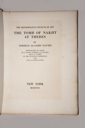 Robb de Peyster Tytus series, Vol. I: The tomb of Nakht[newline]M0421f-03.jpg