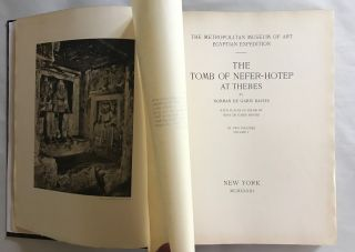 The tomb of Neferhotep at Thebes. Vol. I (of 2)[newline]M0422b-02.jpg