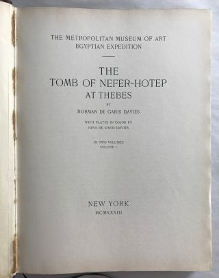 The tomb of Neferhotep at Thebes. Vol. I (of 2)[newline]M0422b-04.jpg