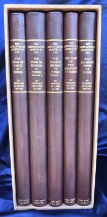 Robb de Peyster Tytus series, complete set of 5 volumes. Vol. I: The tomb of Nakht. Vol. II: The...[newline]M0423b.jpg