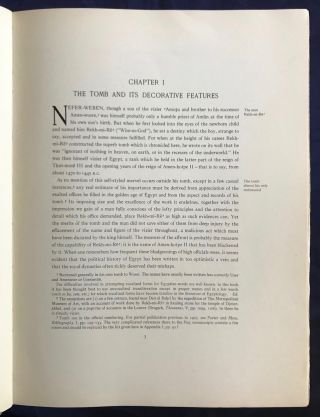 The tomb of Rekh-mi-re at Thebes. Vol. I & II (complete set)[newline]M0426c-06.jpg