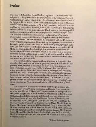 Festschrift Dows Dunham. Studies in Ancient Egypt, the Aegean, and the Sudan.[newline]M0473a-05.jpg