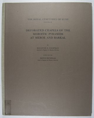 Royal Cemeteries of Kush. Vol. III: Decorated Chapels of the Meroitic Pyramids at Meroë and...[newline]M0478d.jpg
