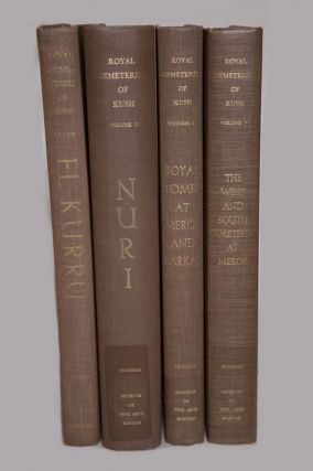 Royal Cemeteries of Kush. 5 volumes (complete set). Vol. I: El-Kurru. Vol. II: Nuri. Vol. III:...[newline]M0479.jpg