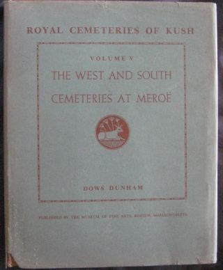 Vol. V: The West and South Cemeteries at Meroë.[newline]M0482c-03.jpg